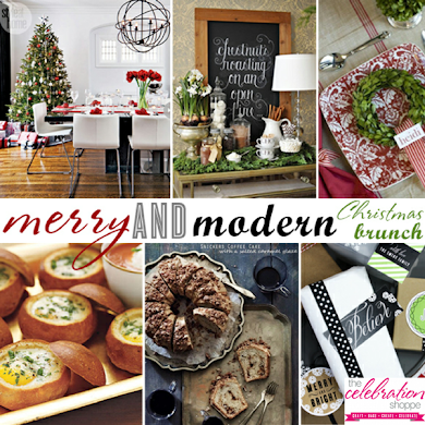 Merry and Modern Christmas Brunch Party Ideas