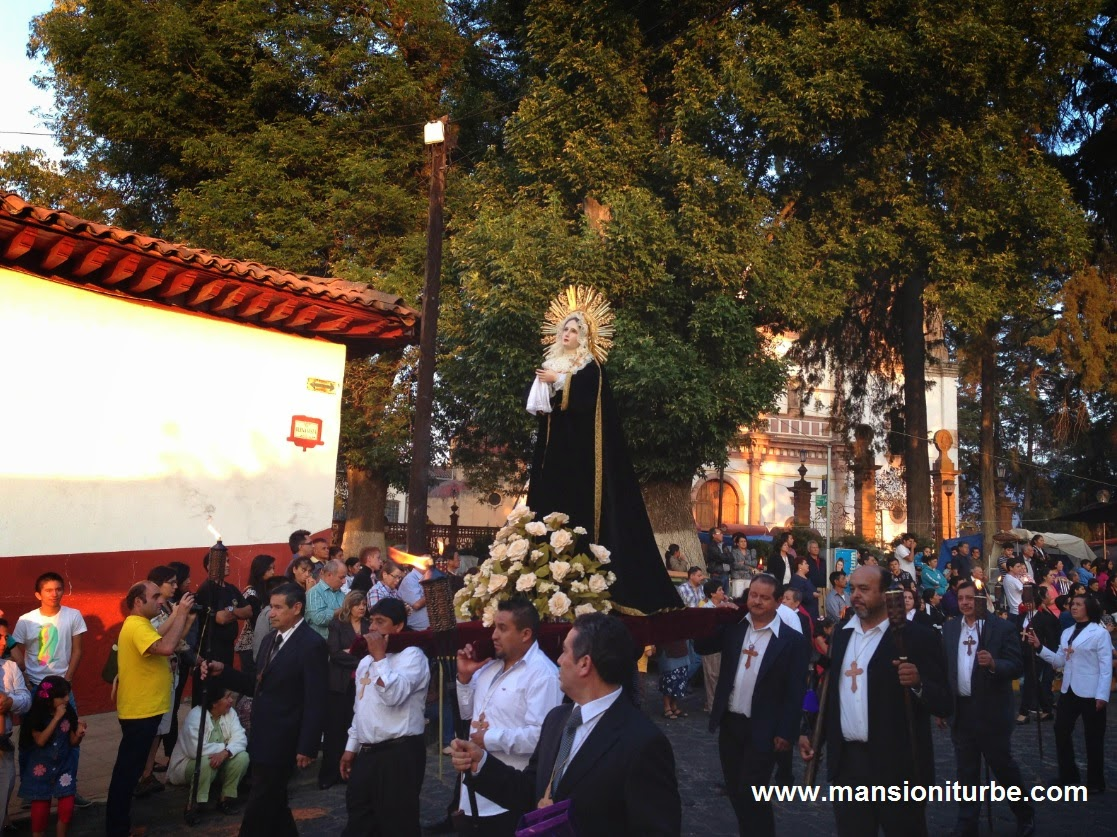 Holy week in Pátzcuaro, Michoacan, Mexico