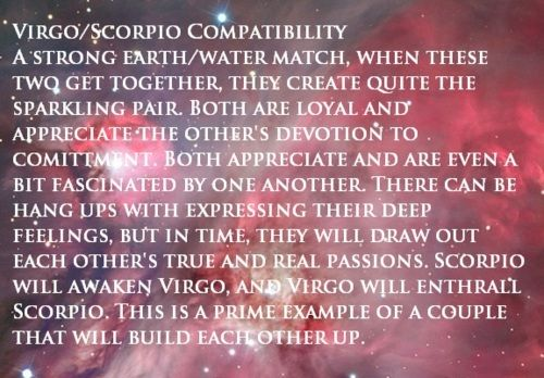 Compatibility Of Scorpio Woman And Virgo Man