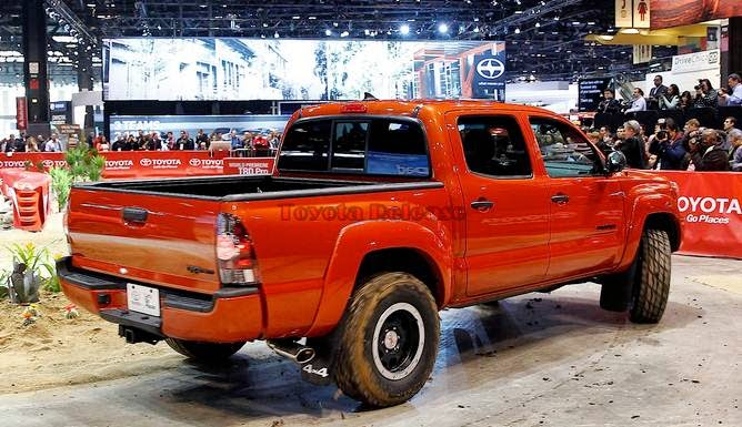 2015 Toyota Tacoma TRD Pro Release Date