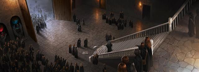 Harry Potter e il Calice di Fuoco: Un furetto di un bianco immacolato