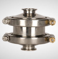 sanitary steam trap with bypass