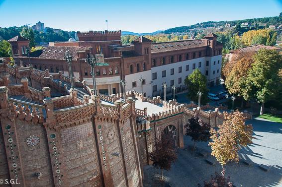 La escalinata de teruel. Visitando Teruel.