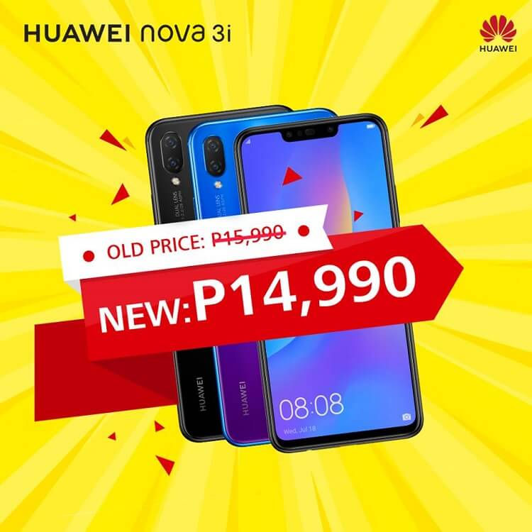 Huawei Nova 3i Receives a Price Drop!