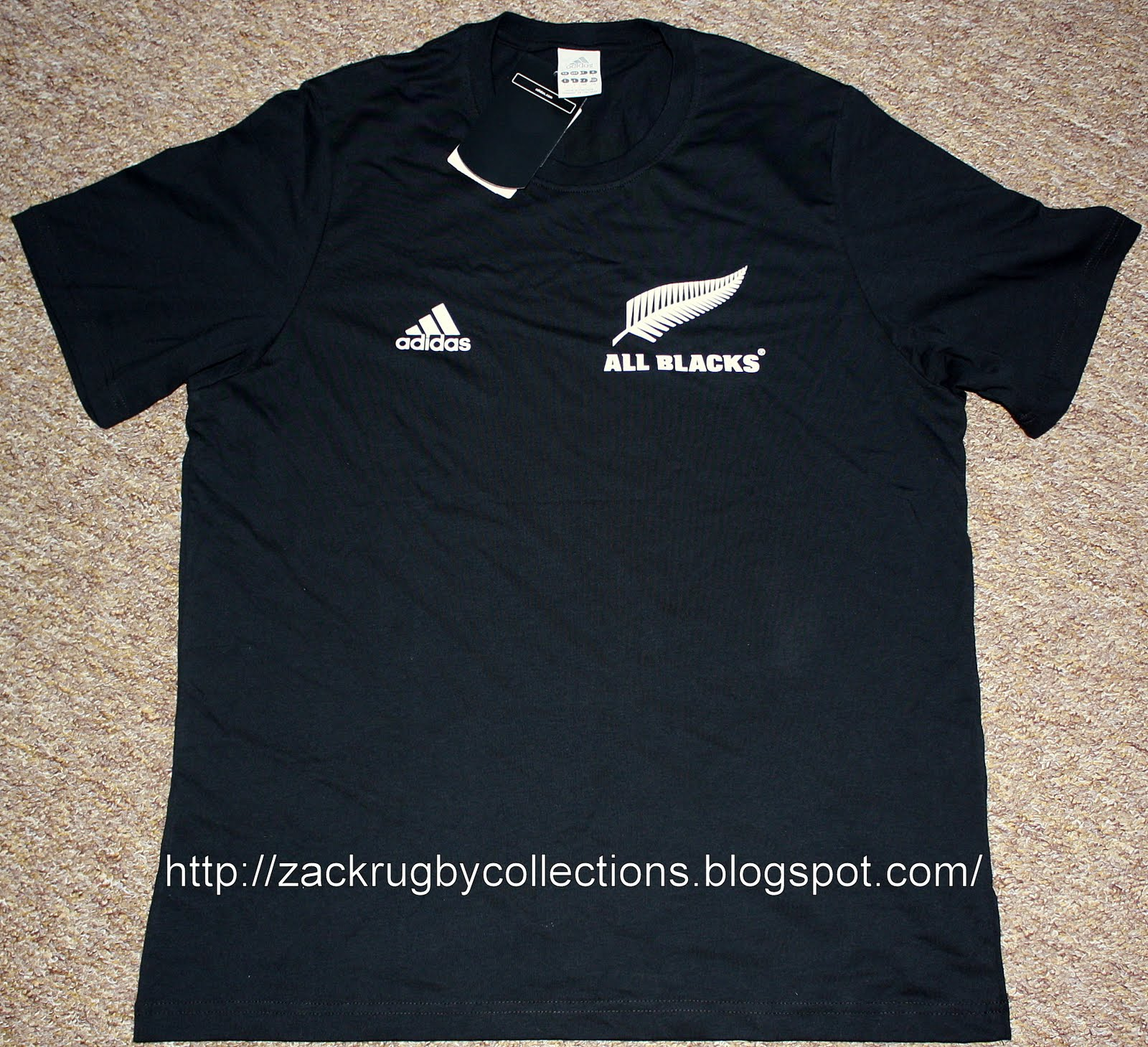 Zackrugby Collections New Zealand All Blacks Haka Rugby Shirt