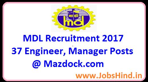 MDL Recruitment 2017