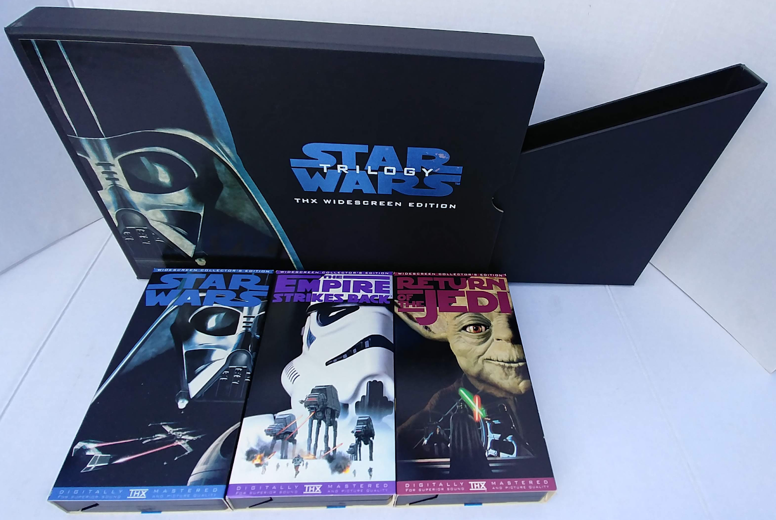 Star Wars Obsessed The Star Wars Trilogy The Widescreen Edition Vhs Box Set