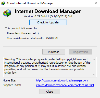 Internet Download Manager IDM 6.29 Build 1 Crack
