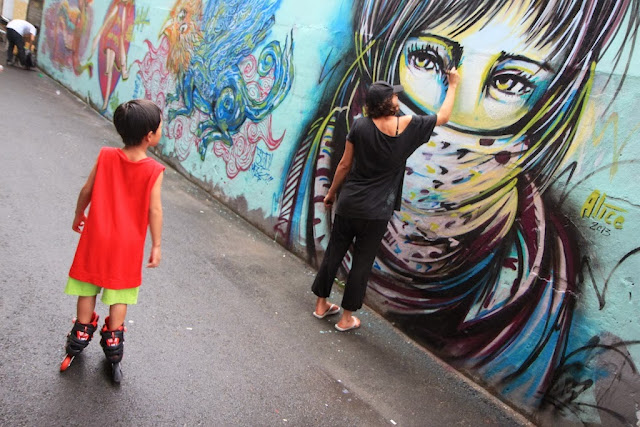 A 3 Week Trip in 3 Cities: Singapore, Yogyakarta, and Ho Chi Minh, searching for urban art and underground culture in Southeast Asia with Italian Street Artist Alice. 3