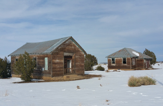 Abandoned Schoolhouse Ruins in Ludlow, Colorado Ghost Town