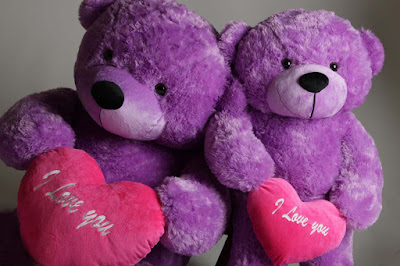 Giant-True-Love-Bear-Hug-Care-purple-teddy-bear