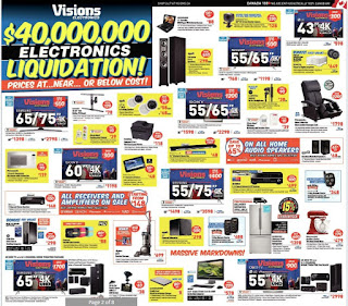 Visions Electronics Weekly Flyer October 13 - 19, 2017