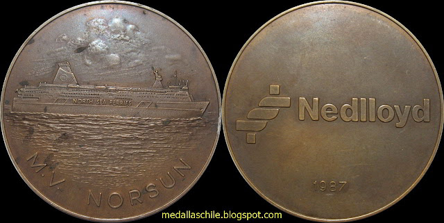medal M.V. NORSUN NEDLLOY