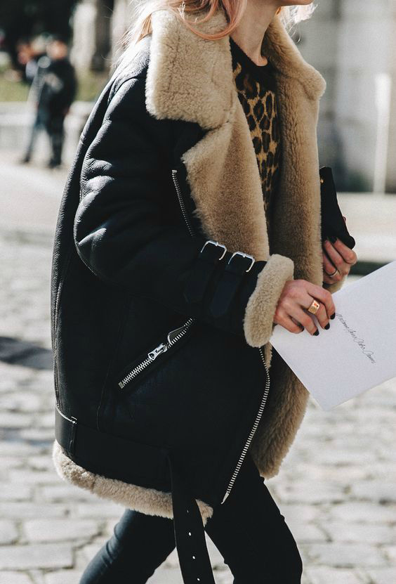 Winter Must-Have: Shearling Jackets