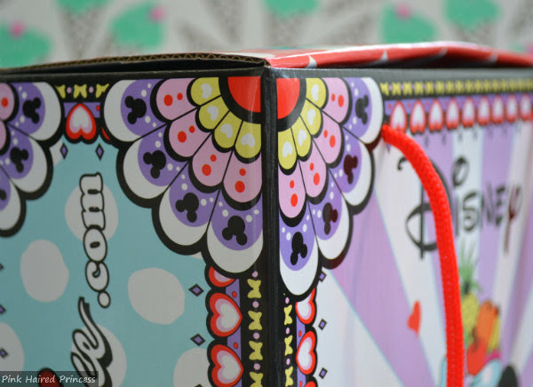 irregular choice disney patterned shoe box