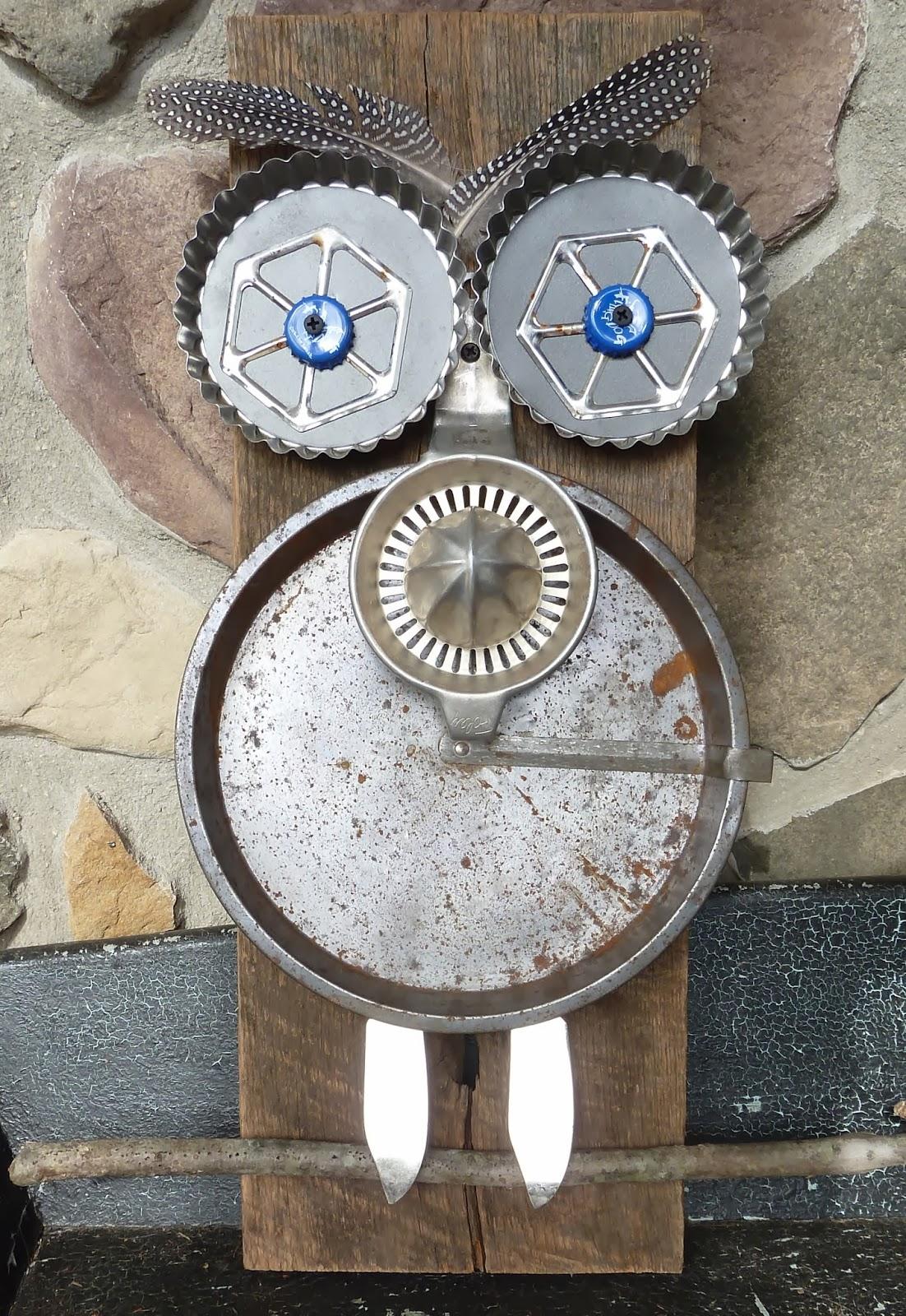 Deborah Gayle Studio Metal Art Flowers Amp Owls