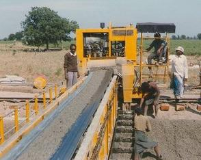Belt conveyors for Concrete