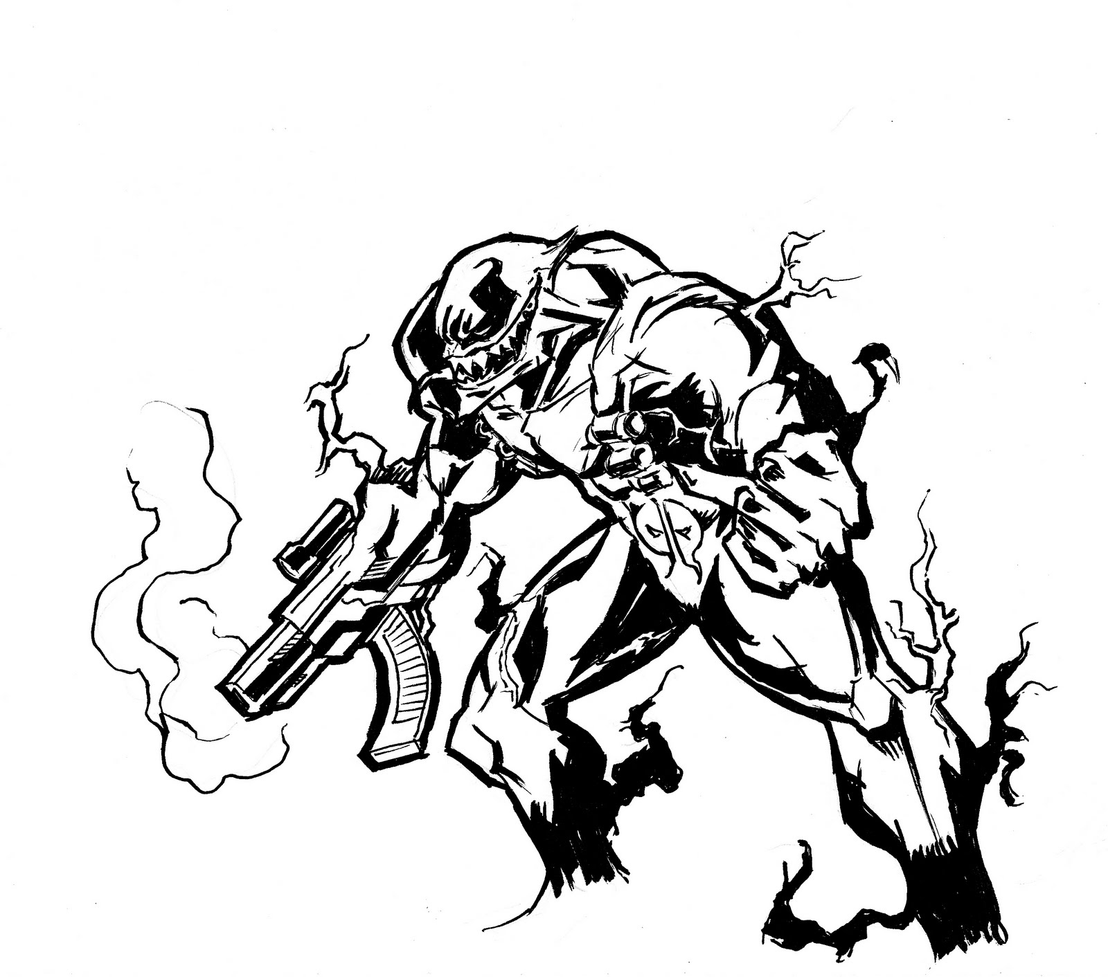 Venom Pool Coloring Pages Coloring Pages
