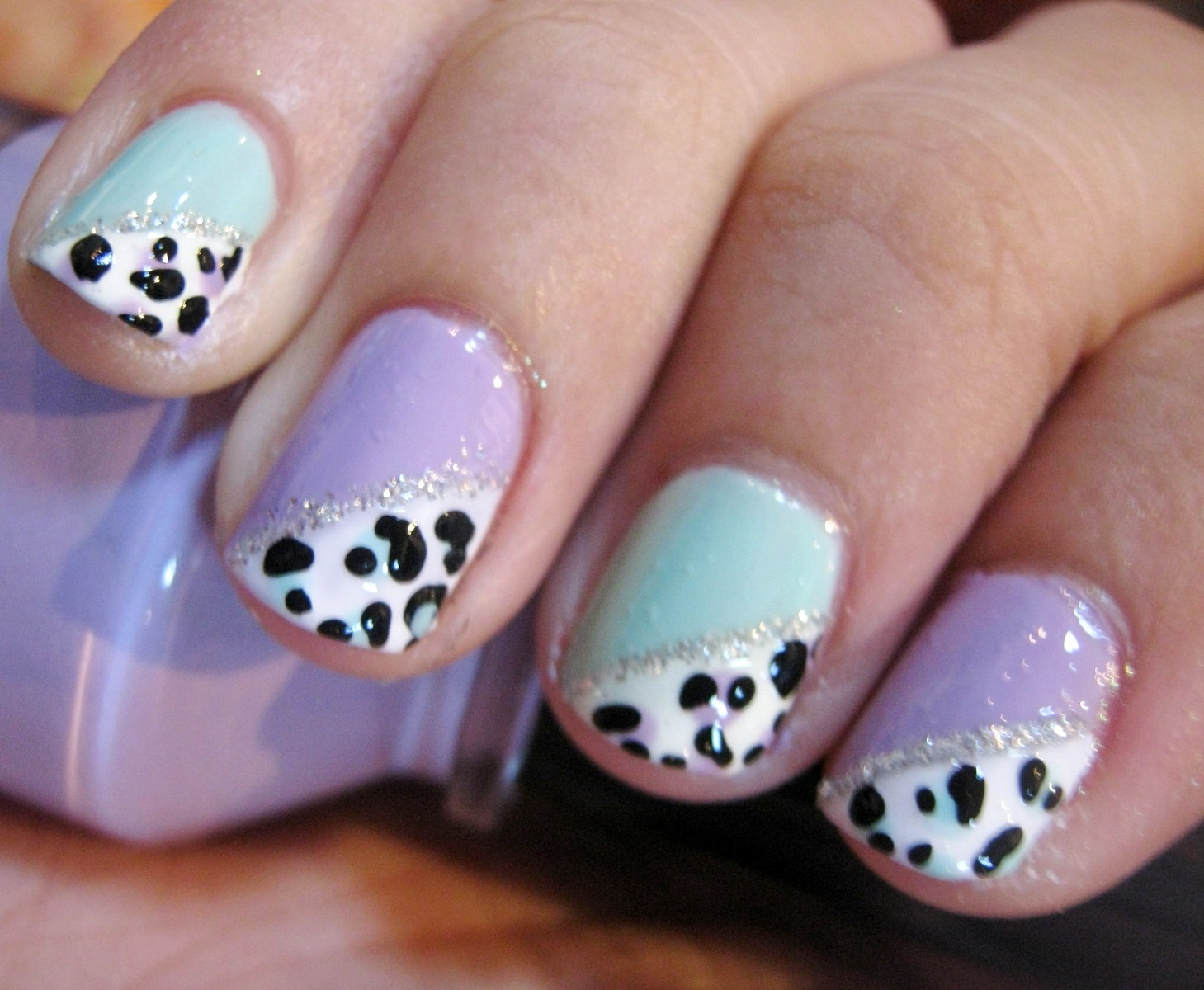 How to Do Nail Art Designs for Short Nails at Home - Romantic Love ...