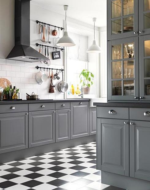 Inspiracje W Moim Mieszkaniu Szara Kuchnia Grey Kitchen