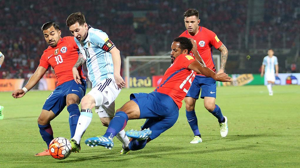 Chile Argentinien FuГџball