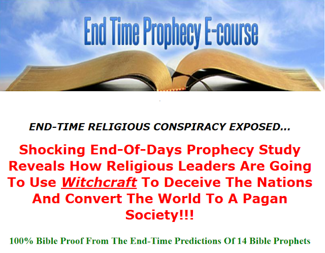 Click Here For The End Time Prophecy Course