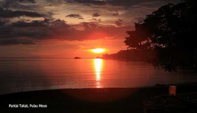 Sunset Pantai Takat