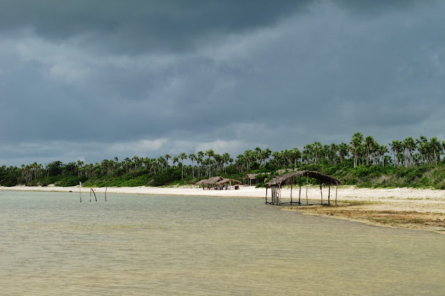 Lagoa da Torta em experiência de Turismo Comunitário na vila de Tatajuba