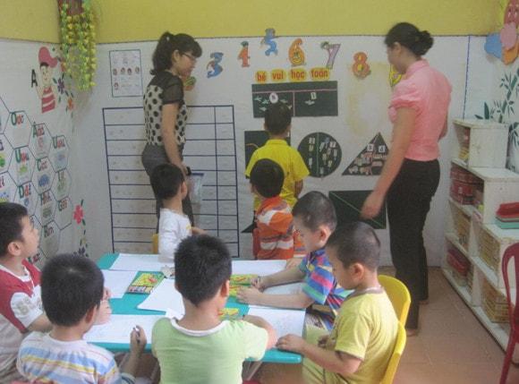 Một số biện pháp nâng cao chất lượng giáo dục trong trường mầm non