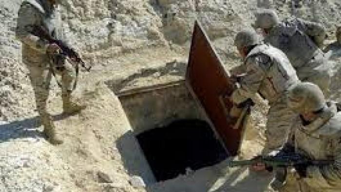 عــاجل | شاهد ما وجدتة الشرطة المصرية فى مخبأ سرى تحت الارض فى وسط سيناء