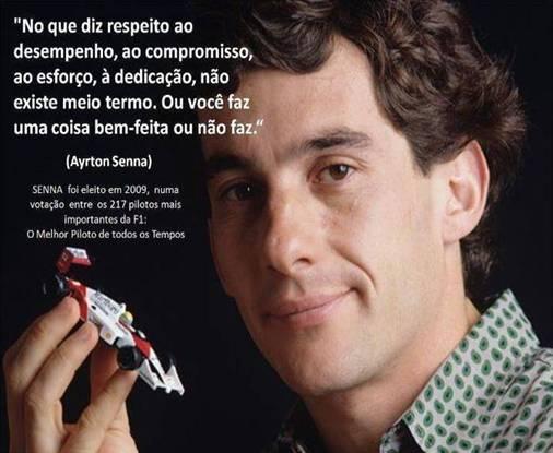 De Senna ao pipoqueiro da pracinha