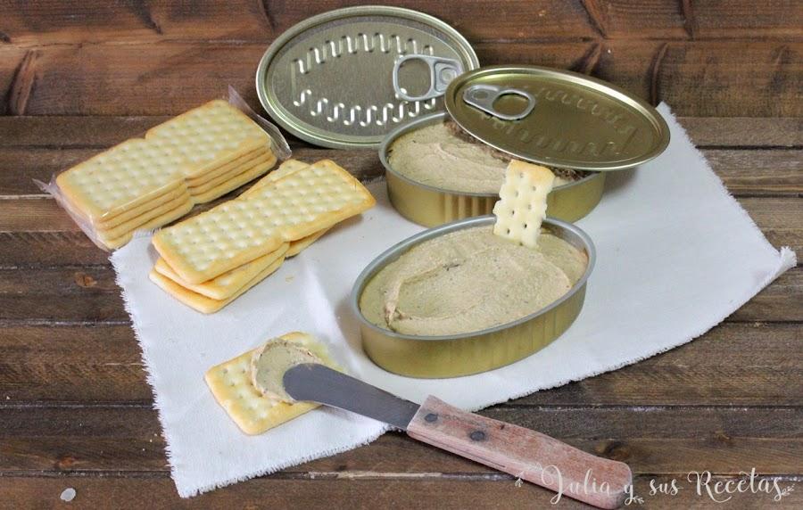Paté de mejillones. Julia y sus recetas