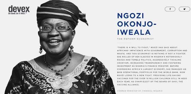 Ngozi Okonjo-Iweala reveals her plans for 2019 Presidential Election