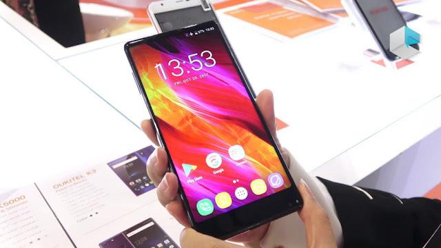 هاتف Oukitel MIX 2 بكاميرا 16MP و رام 6GB مع رابط الشراء