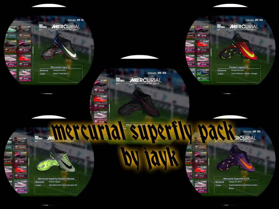 Mercurial Superfly pack