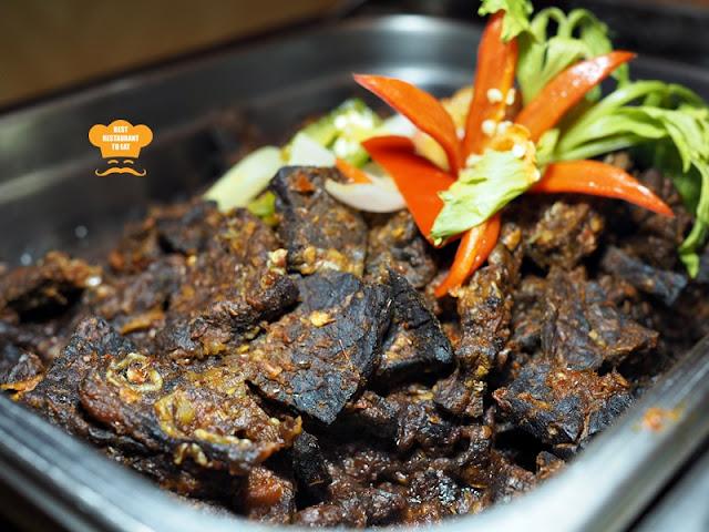 Fried Beef Lung With Chillies One World Hotel Bandar Utama Cinnamon Coffee House