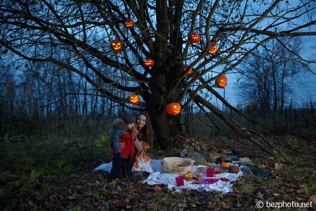 домашний хэллоуин фото