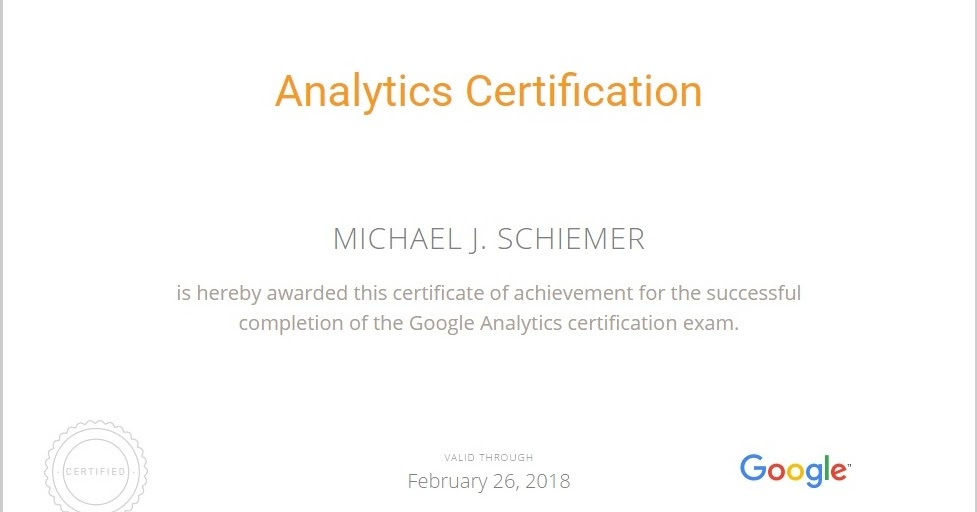 Bootstrap Business: Google Analytics Academy Certification Notes Guide 2