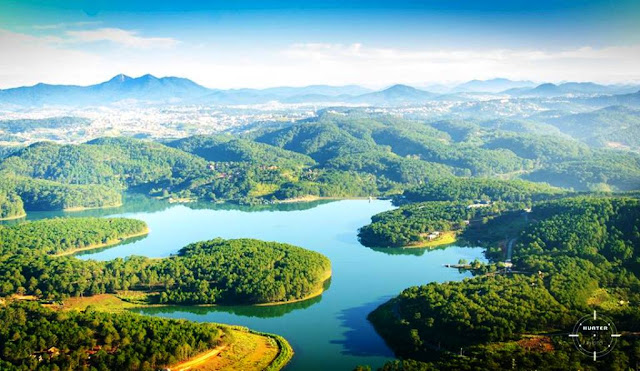 Toàn cảnh Hồ Tuyền Lâm Đà Lạt