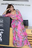 Angela Krislinzki Rogue Movie Fame Telugu Actress in Saree Backless Choli 018.JPG