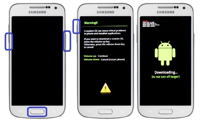 Cara Flashing Samsung Galaxy S4 Mini GT-i9190 via Odin