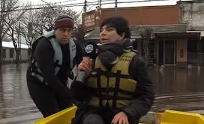 Inundaciones y operetas: el periodista Jorge Rial desenmascaró a la conductora ultramacrista, Mónica Gutiérrez