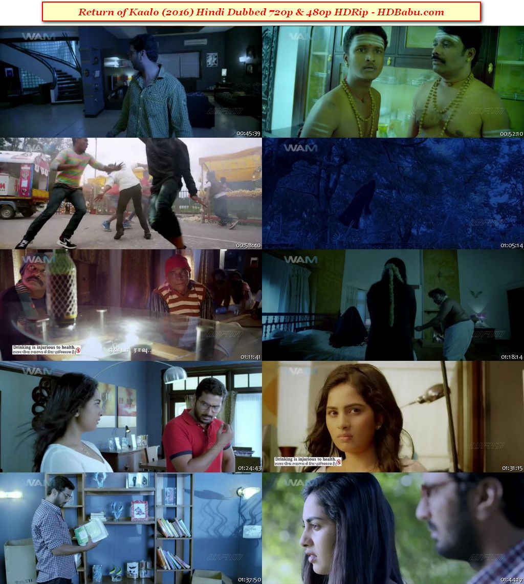 Return of Kaalo Hindi Dubbed Full Movie Download