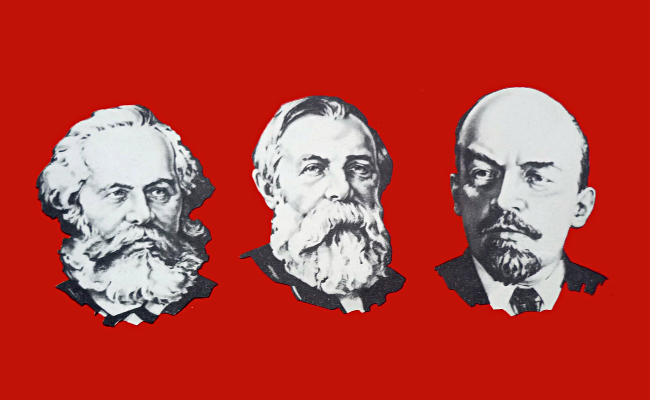 karl marx and lenins ideology Policy interpretations and practices (including those of marx, lenin, stalin, mao   after lenin's death in 1924, a struggle of marxist ideology and power would.
