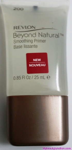 Revlon Beyond Natural Smoothing Primer review