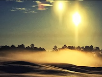 Cahaya Misterius Di Langit Carolina