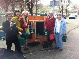 buurtcompost Josef Israelskade Amsterdam Compost