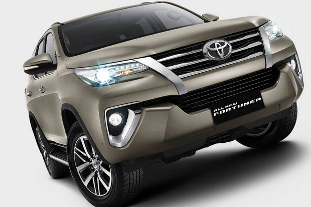 fitur all new toyota fortuner