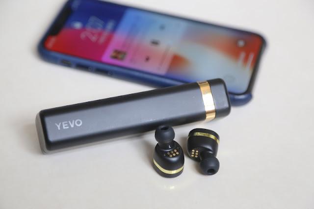 YEVO 1 真藍牙耳機 NFMI 近場磁感應技術