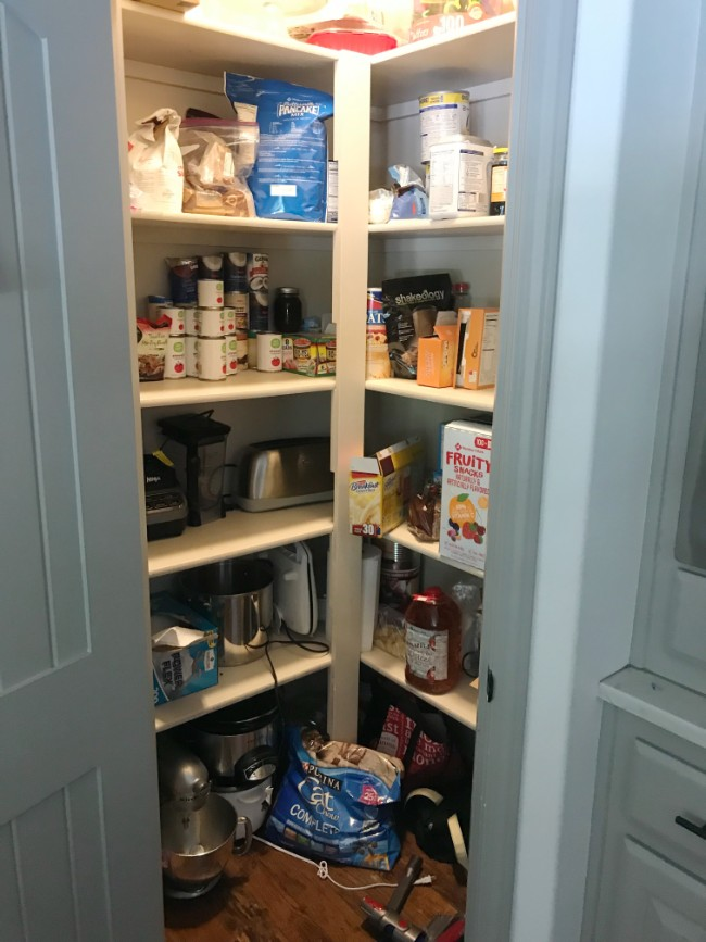 Lindsey And I Arranged To Have Her Help Me With My Pantry, My Bathroom And  My Game/craft Closet. And Boy Did They All Need Help. See Below!